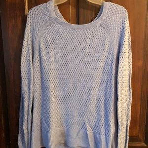 Light blue sweater from AE